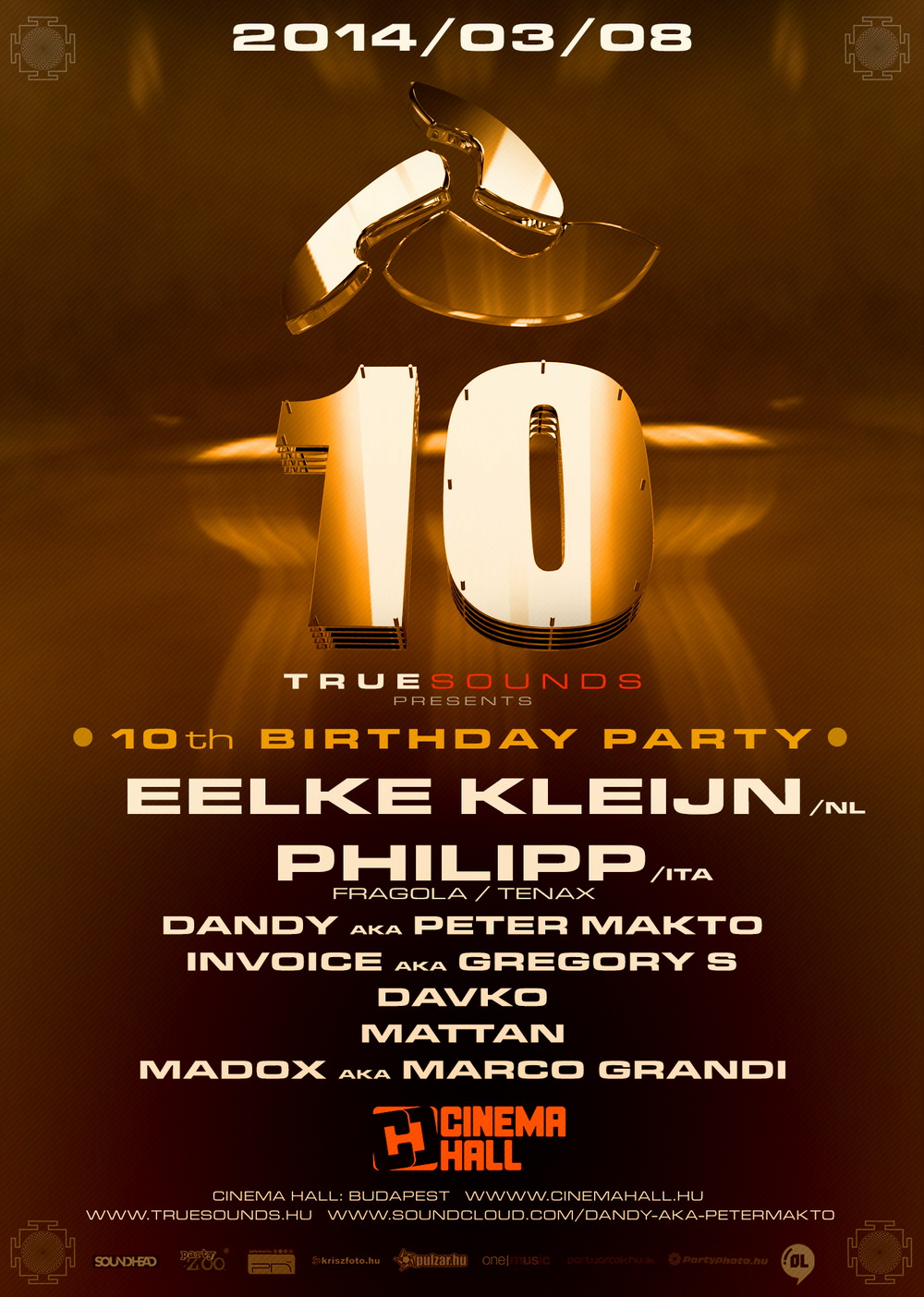 Truesounds presents: 10th Birthday Party