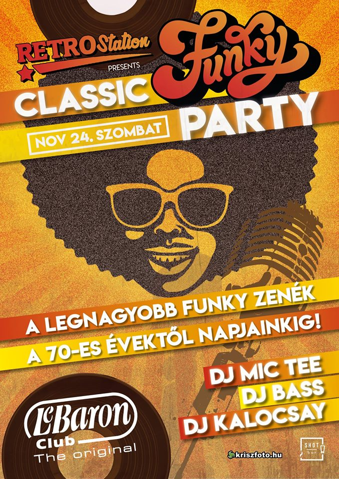 Classic Funky Party ● LeBaron Club 11/24