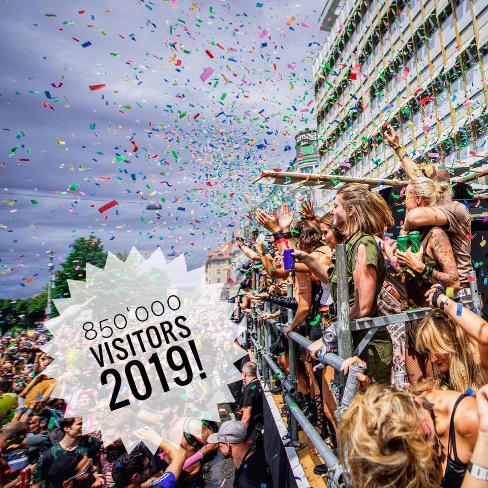 Street Parade 2019 - Official